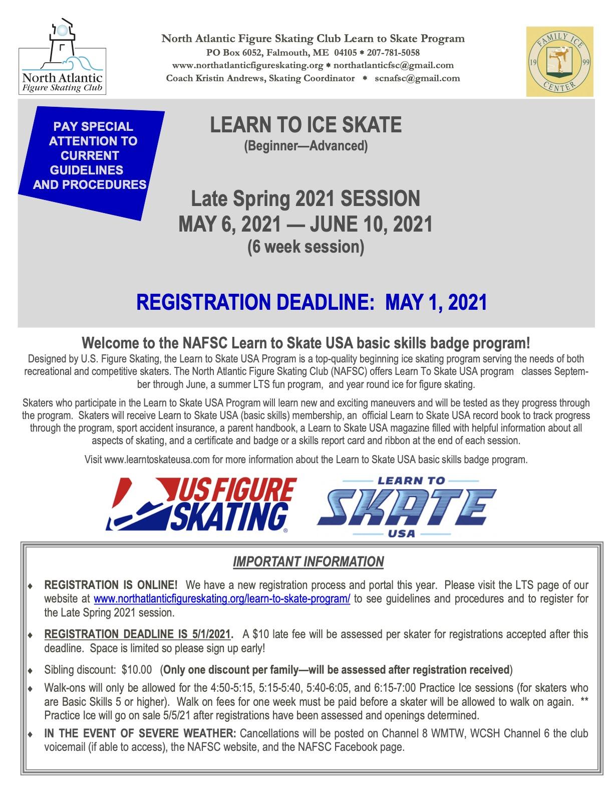 2021 Late Spring LTS registration form 1
