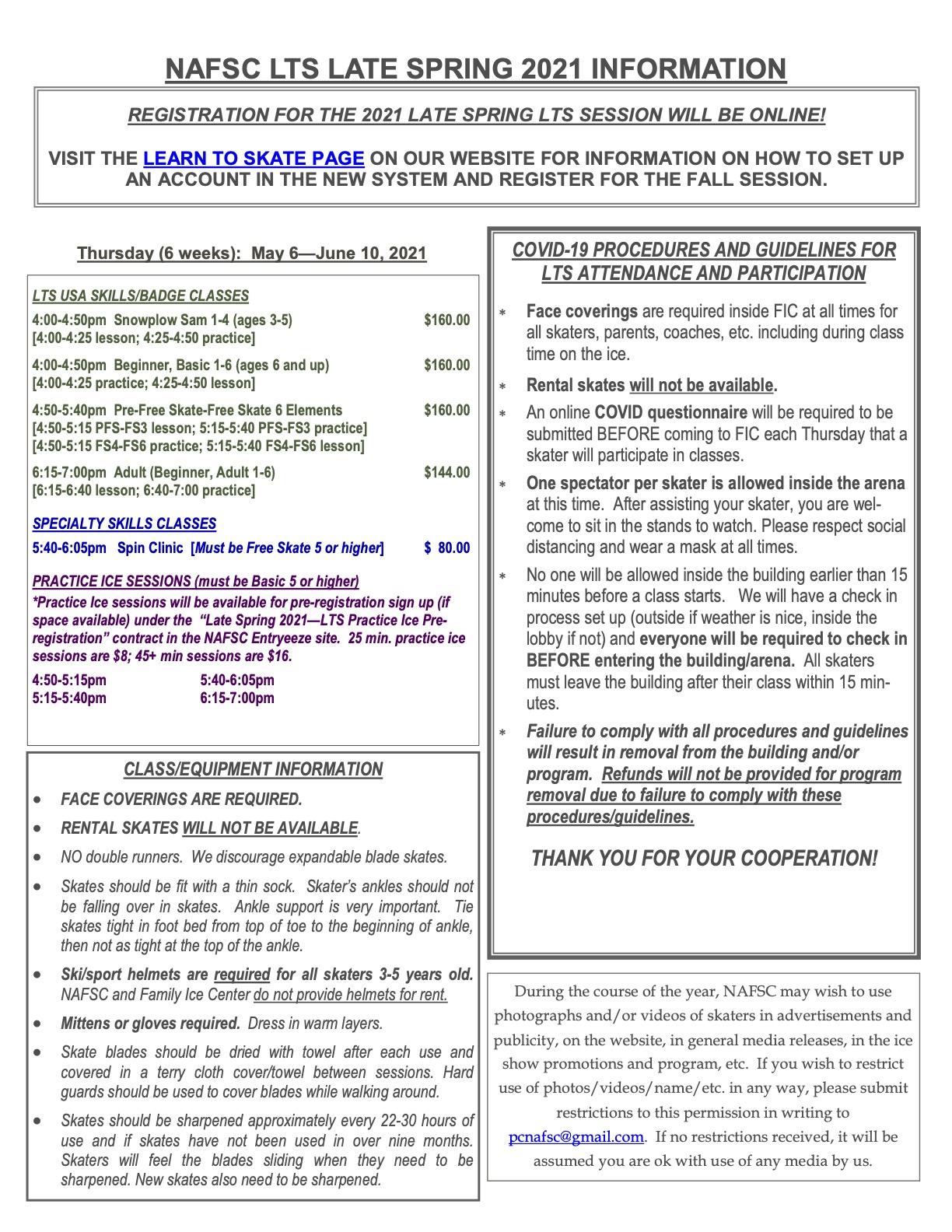 2021 Late Spring LTS registration form 2